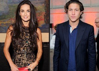 Vito Schnabel and Demi Moore apparently got acquainted at the 50th birthday party of Naomi Campbell's boyfriend Vladimir Doronin on November 9 in Jodhpur