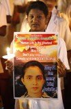 A vigil in memory of Jacintha Saldanha was organized by a local politician in Bangalore