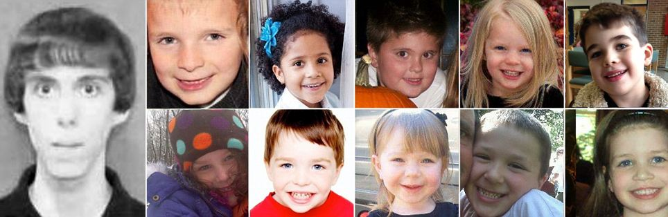 All 20 children, 12 boys and 8 girls, who died in a shooting at Sandy Hook Elementary School in Connecticut, were aged between six and seven