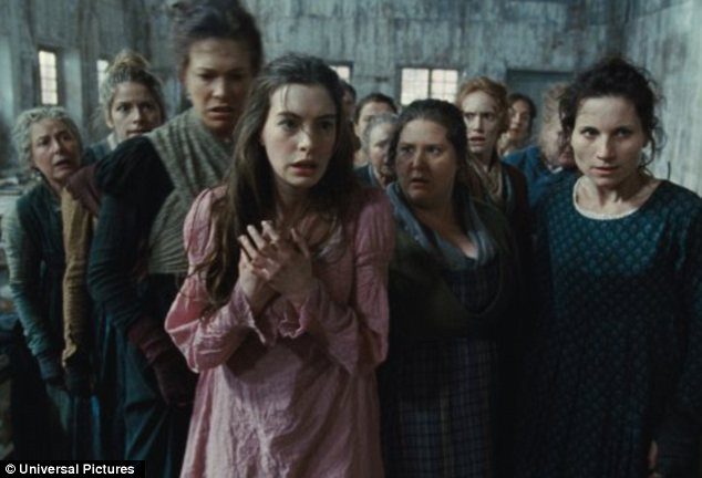 Anne Hathaway, who plays Fantine in the hotly anticipated Les Misérables, took the opportunity to open up about starving herself for the role in a new photo shoot