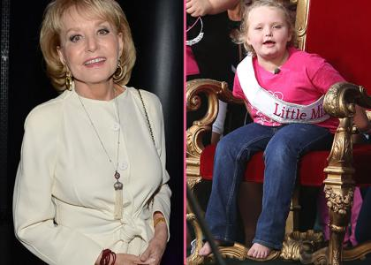 Barbara Walters has named Honey Boo Boo as one of her Most Fascinating People of 2012