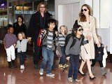 Brad Pitt and Angelina Jolie brought along up to 12 nannies to look after their brood during their festive break in the Caribbean