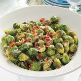 Brussels sprouts Christmas recipe