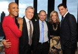 Cancer survivor Robin Roberts attended an intimate wedding for ABC News weatherman Sam Champion and his partner Rubem Robierb on Friday