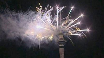 Celebrations are being held around the world to mark the New Year with the city of Auckland in New Zealand holding the first major events of 2013 photo