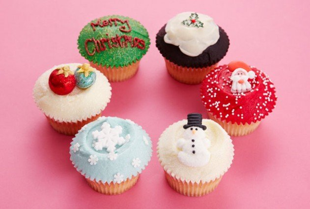 Christmas Decorations Cupcakes Easy : Christmas cupcakes ideas