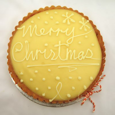 Christmas Eve Lemon Tart