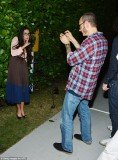 Demi Moore raised more eyebrows with her goofy antics at a party for fashion photographer Terry Richardson in Miami Beach