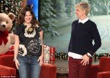 Drew Barrymore revealed on The Ellen DeGeneres Show how she chose her daughter's name when she was the size of an olive