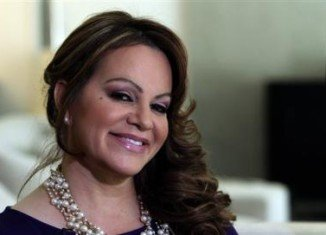 Family and friends have paid their final respects to Jenni Rivera, ten days after the singer's death in a plane crash