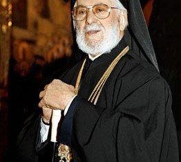 Ignatius IV Hazim, the Greek Orthodox patriarch of Syria, has died in neighboring Lebanon at the age of 92