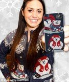InspireMyCase has launched a range of iPhone cases plastered with scenes inspired by tacky Christmas sweaters