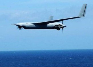 Iranian state television has showed images of what it says is a US ScanEagle unmanned drone captured in its airspace