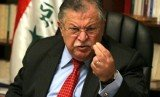 Iraq's President Jalal Talabani is flying to Germany for further treatment after a reported stroke