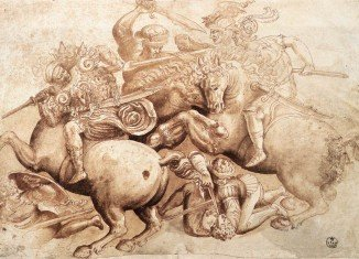 Italian specialist art theft police have tracked down and brought home a 400-year-old copy of a lost Leonardo Da Vinci masterpiece, an incomplete fresco painting of the Battle of Anghiari