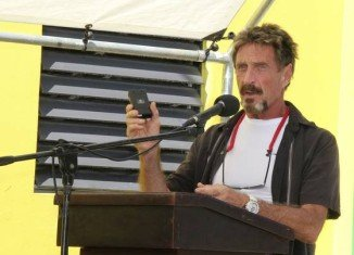 John McAfee, the founder of anti-virus software maker McAfee, has been arrested in Guatemala, accused of entering the country illegally