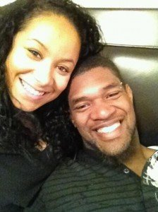 Jovan Belcher leaned over Kasandra Perkins dead body said he was sorry and kissed her on the forehead photo
