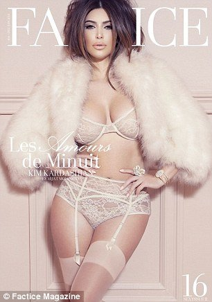 Kim Kardashian's latest photo shoot for French magazine Factice could be one of her most daring yet