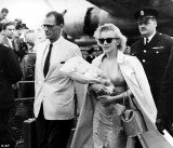 Marilyn Monroe and Arthur Miller were both suspected of communist activities by the FBI