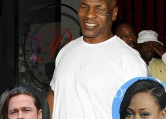 Mike Tyson has revealed how he found his wife Robin Givens in bed Brad Pitt
