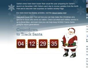NORAD, which has been tracking Santa from 1958, has announced its switching its annual Santa tracking partnership from Google to Bing