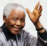 Nelson Mandela, South Africa's first black president, is being treated for a lung infection