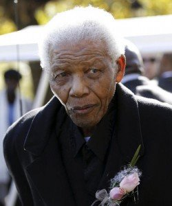 Nelson Mandela South Africas former leader has been admitted to hospital in the capital Pretoria to undergo tests photo