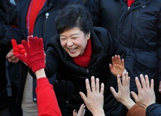 Park Geun-hye, the daughter of former dictator Park Chung-hee, defeated her liberal rival Moon Jae-in in South Korea's presidential election