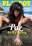 Paz De La Huerta covers Playboy magazine for the new issue of the gentlemen's magazine