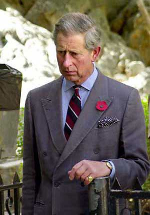 Prince Charles said he was thrilled at Kate Middleton's pregnancy