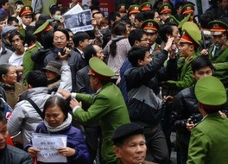 Rare protests have taken place in Vietnam over maritime territorial disputes with neighboring China