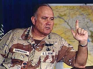 Retired General Norman Schwarzkopf who led troops in the 1991 Gulf War has died aged 78 photo