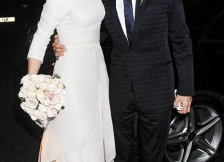 Ronnie Wood and Sally Humphreys married on Friday in a secret ceremony