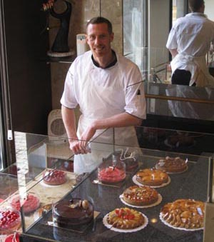 Since moving to Brussels in 2005, Ryan Stevenson has twice won the title of Belgian Chocolate Master