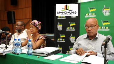 South Africa's governing African National Congress is holding its party congress at which members will vote for its next leader