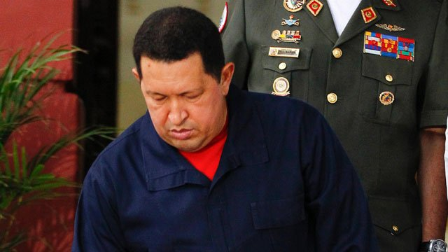 Venezuela's President Hugo Chavez says he will return to Cuba on Sunday for more cancer surgery