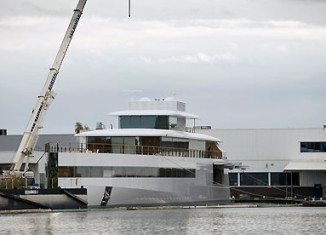 Venus, the minimalist high-tech yacht commissioned by late Steve Jobs, has become embroiled in a row over a disputed bill