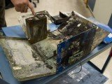 Airline safety inspectors have found no faults with the battery used on Boeing's 787 Dreamliner