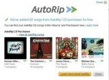 Amazon has launched AutoRip, a service that stores free digital versions of CDs bought via its store