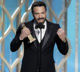 Ben Affleck won Best Director and Best Motion Picture Drama at Golden Globes 2013 for Iran hostage thriller Argo