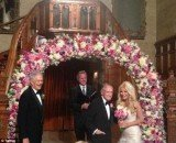 Crystal Harris and Hugh Hefner married on New Year's Eve at Playboy mansion