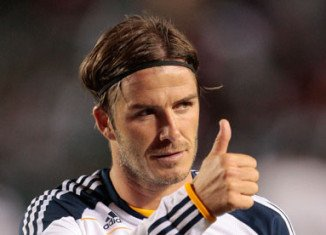 David Beckham is on his way to France to complete the formalities of a move to Paris St Germain