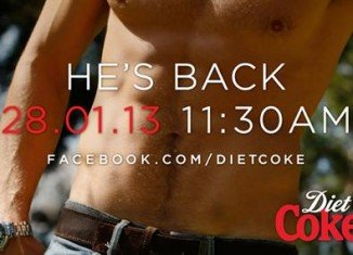 Diet Coke is now bringing back The Hunk to celebrate the diet drink's 30th birthday