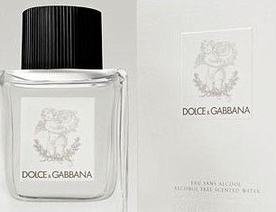 Dolce & Gabbana baby perfume is a unisex product packaged in a minimal black and white design in keeping with the brand's chic Italian style