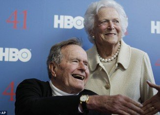 Former US President George H.W. Bush, who has been hospitalized in Houston since November, may be released from the facility in the coming days