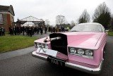 Hundreds attended the funeral of Thunderbirds creator Gerry Anderson in Reading, UK, on Friday