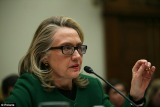 It appears that Hillary Clinton was wearing a Fresnel prism on her spectacles during Benghazi attack hearing indicating she may still be experiencing the after-effects following the blood clot