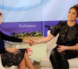 Jennifer Lopez admits she is still struggling to deal with the collapse of her marriage to Marc Anthony after two years on Katie Couric show