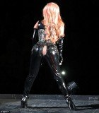 Lady Gaga split her latex pants as she kicked off the North American leg of her Born This Way Ball tour in the first of two sold out shows in Vancouver, Canada