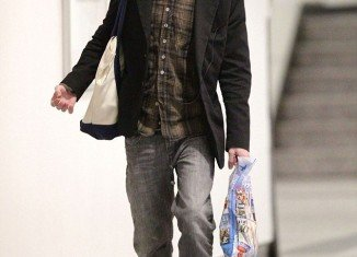 Macaulay Culkin landed in Laguardia Airport in New York on a flight from Miami on Saturday appearing more clean cut than he has in weeks the collective sigh of relief could be heard